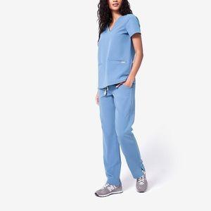 FIGS Kade Scrub Pants - L - Ceil Blue